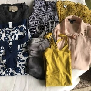 7 for $30! Tops & blouses